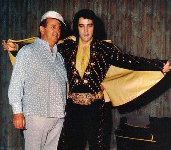 Parker és Elvis 1972-ben