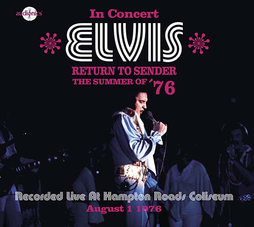 For Elvis CD Collectors • New Audionics CD ''Return To Sender - The